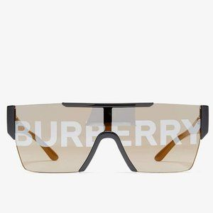 Barberry BE4291 Black Grey unisex Logo Lens